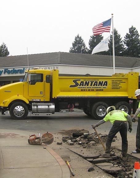 Santana Paving & Grading, Inc. Santa Cruz area