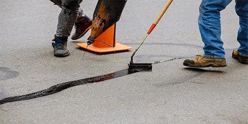 Santana Paving & Grading, Inc. asphalt repair services in the Santa Cruz area