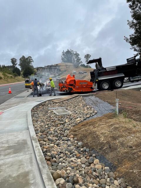 Santana Paving & Grading, Inc. asphalt paving Santa Cruz